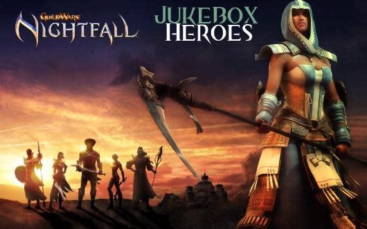 Jukebox Heroes: Guild Wars Nightfall's soundtrack