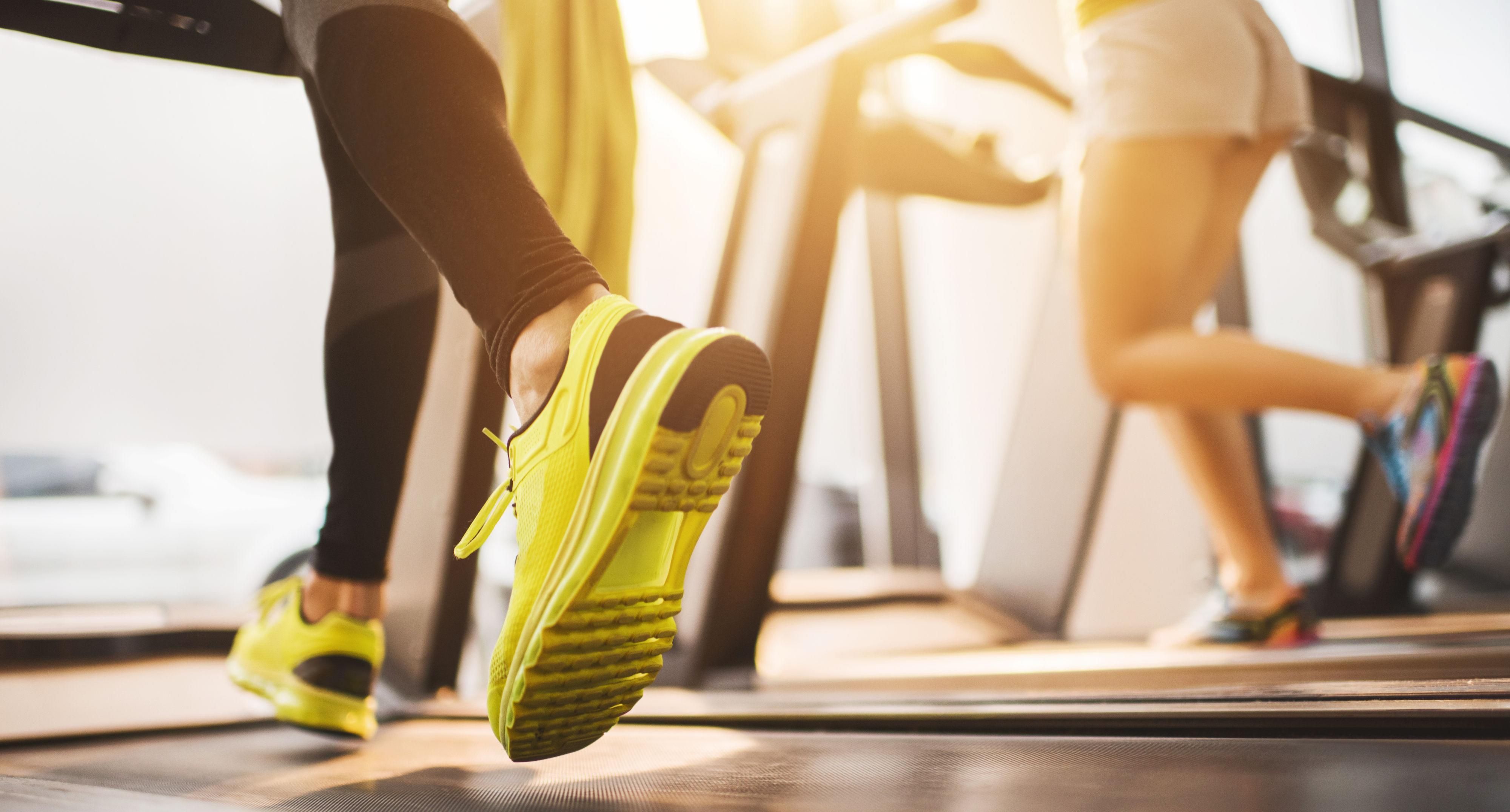 """<p>Forget the dreadmill — it's time to finally make treadmill workouts more interesting. Instead of slogging away at the same pace in the same direction, Chambers suggests slowing down the speed and doing side lateral skips. """"They primarily work the muscles in your butt, hips, and thighs, but they also hit the transverse abdominus — the deepest layer of the abdominal muscles — to add a little spice to your workout,"""" he says. Try the following quickie routine: side lateral skips: 30 seconds on each side (repeat so you do skips twice per side),1 minute: sprint (as fast as you can go),1 minute: rest; repeat 4 times.</p>"""