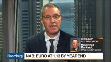 NAB's Attrill Sees Euro Trending Higher Next Year