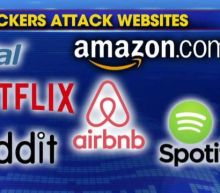 Major websites disrupted by cyber attacks