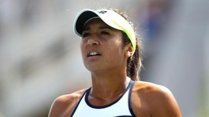 Heather Watson out in Wuhan Open qualifying as wait for main-draw win goes on