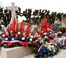 General de Gaulle's grave vandalised, say French police