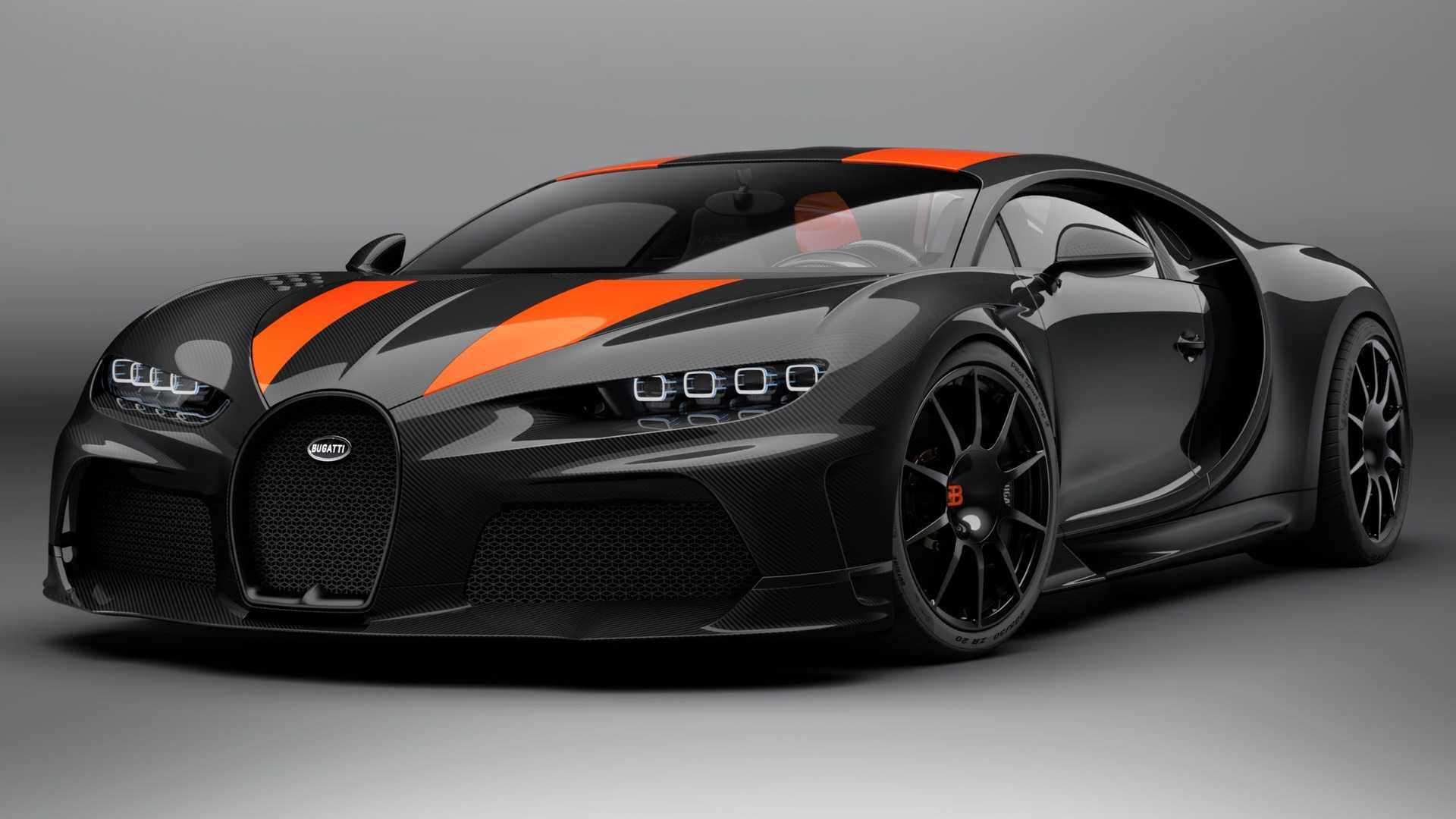 Bugatti Chiron Super Sport 300 Official Images Released