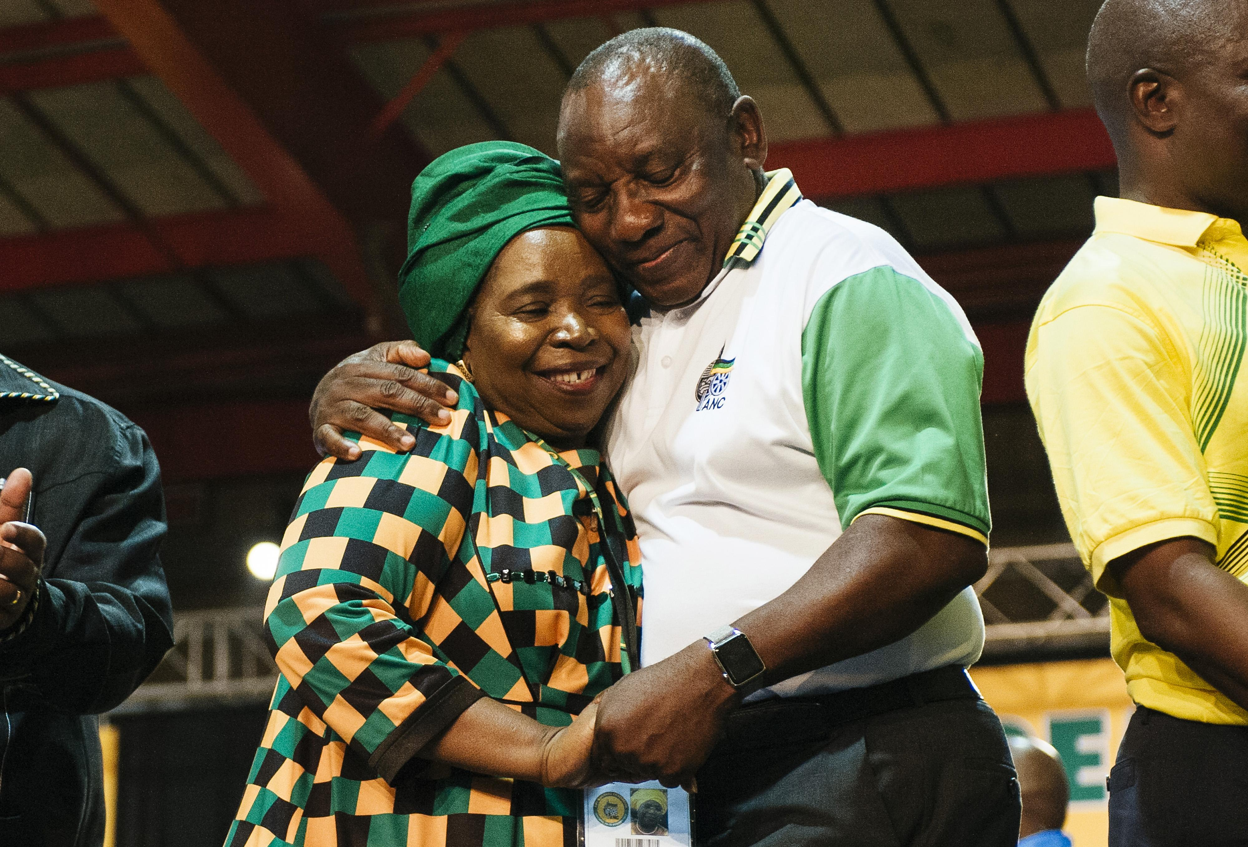 Cyril Ramaphosa Chosen to Lead South Africa's Ruling Party
