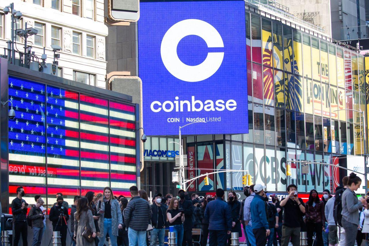 Coinbase Stock Goes Public—and Retail Traders Can't Get Enough