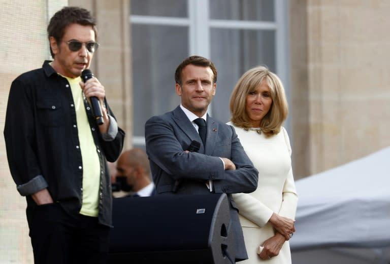 Fête de la musique: Macron décore Jarre et Cerrone avant le concert à l'Elysée