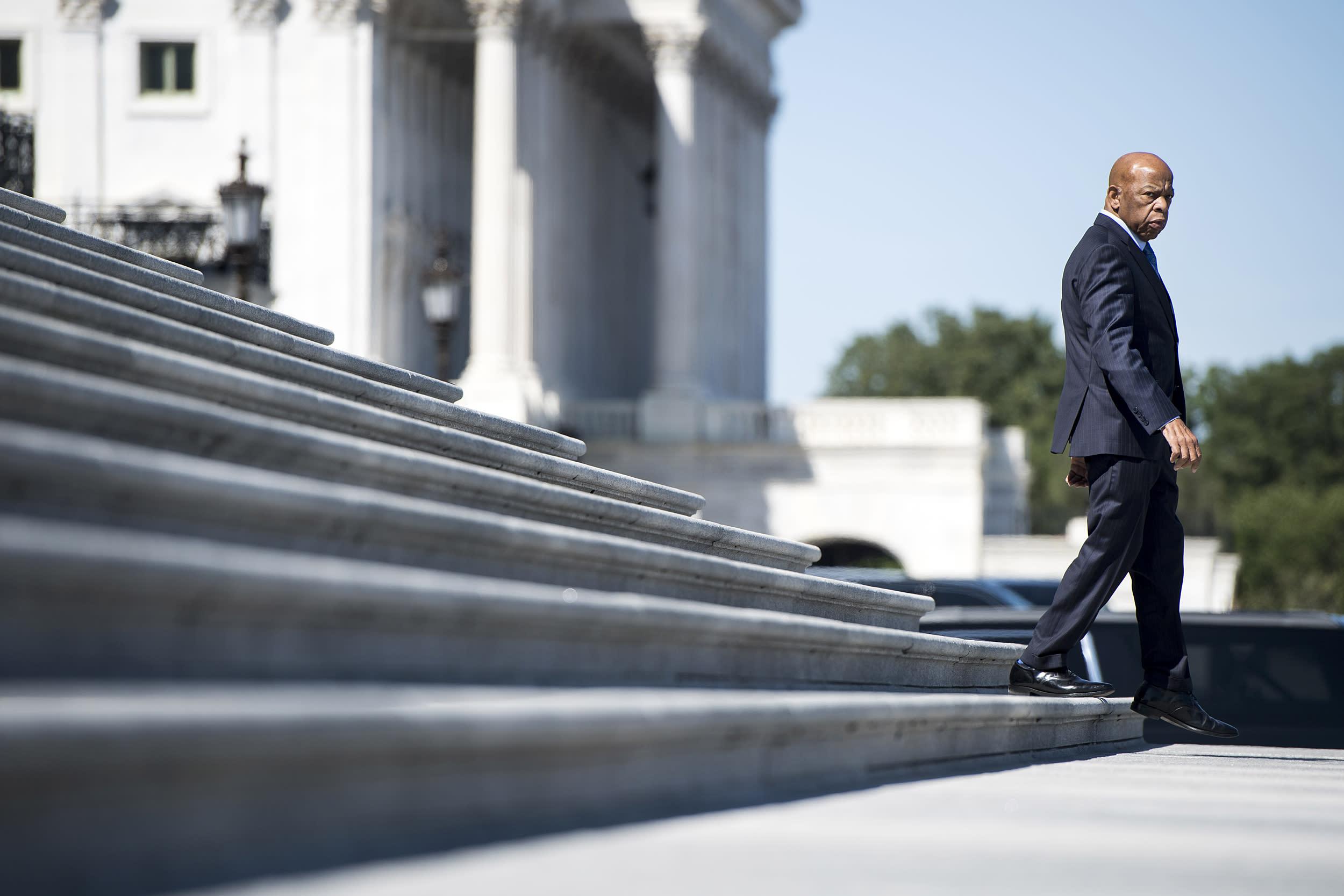 Rep. John Lewis to lie in state at Capitol next week