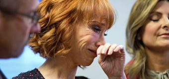 Kathy Griffin fears backlash after fake Trump video