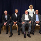 Lady Gaga With 5 Living, Former U.S. Presidents