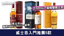 【威士忌入門】威士忌推薦5款!$500以下蘇格蘭威士忌 適合居家獨酌