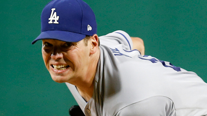Rich Hill's no-hitter busted by walk-off homer