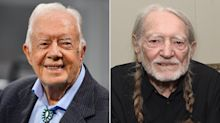 Jimmy Carter Says Willie Nelson Smoked Pot with His Son on the Roof of the White House