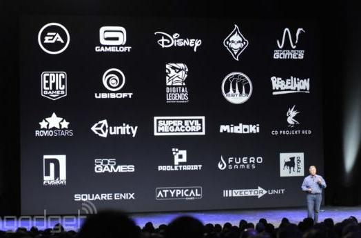 Game devs on board with the iPhone 6, Apple Watch