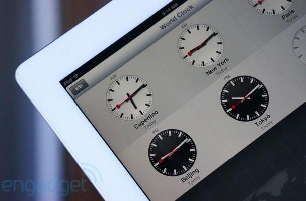 Apple agrees to license for Swiss railway clock in iOS 6, knows what time it is