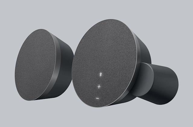 Logitech's MX speakers have motion-activated controls