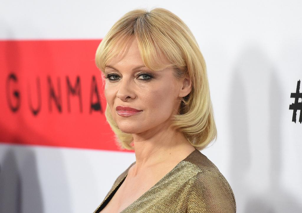 US-Canadian actress Pamela Anderson is an honorary director of the animal rights group People for the Ethical Treatment of Animals (PETA) (AFP Photo/Jason Merritt)