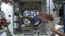 Astronauts Get Into the World Cup Spirit