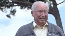 Tearful war veteran, 96, returns to Italy
