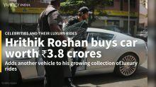 The many luxury cars of Hrithik Roshan