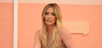 Hilary Duff confronts 'disgusting' paparazzi