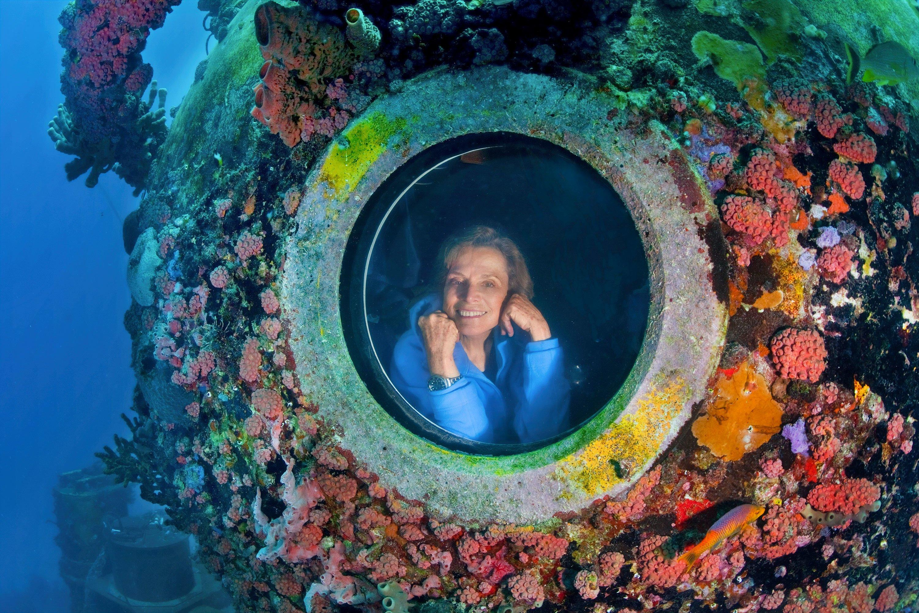 Meet Sylvia Earle, the Jane Goodall of the Sea