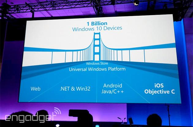 Microsoft invites Android and iOS apps to join Windows 10