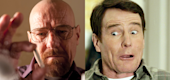 "Bryan Cranston in ""Breaking Bad,"" left, and ""Malcolm in the Middle."" (Yahoo Entertainment)"