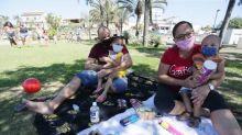 Parque de Madureira tem movimento tímido no primeiro sábado após reabertura