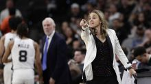 Becky Hammon coaches Spurs in exhibition vs. Bucks — with Pop as her assistant