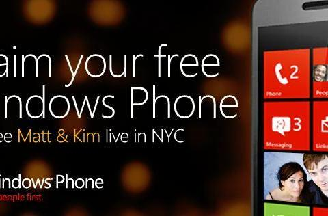 Got Klout? You may qualify for a free Windows Phone