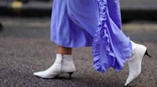 10 ways to wear white boots this spring
