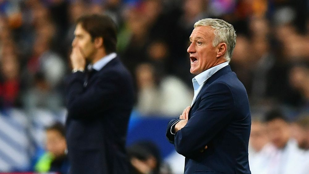 Deschamps welcomes 'evolution of football' with VAR