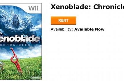 Xenoblade Chronicles available on GameFly