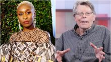 Cynthia Erivo on Stephen King's Controversial Diversity Comments