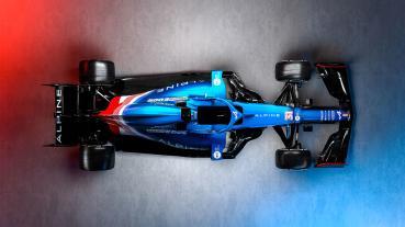 Alpine車隊推出更名後首款F1賽車A521