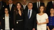 Luciana Gimenez toma café da manhã com Bolsonaro e opina sobre governo