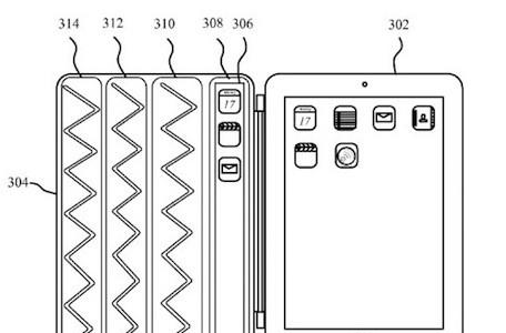 """iPad """"Smarter Cover"""" patent application would add display, controls to cover"""