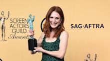 Julianne Moore Recalls Soapy Past While Accepting SAG Award