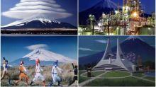 日本富士山之日 超靚景又關動漫特撮事