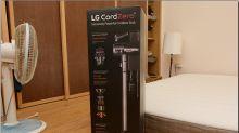 LG CordZero A9 無線手持吸塵器 開箱實測,灰塵、螨蟲通通一掃而空