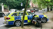 Moped crime in London halved after police introduce tough measures to ram suspects
