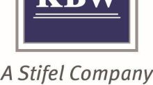 KBW Announces Index Rebalancing for Second-Quarter 2021