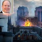 Monaco's Prince Albert Pledges Aid in Rebuilding of Notre Dame: 'The Emblematic Heart' of Paris