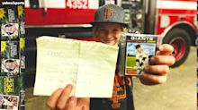 How one girl is using baseball cards to spread joy after losing hers in California fires
