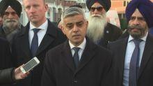 Sadiq Khan reacts to Ilford stabbing deaths