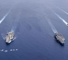 U.S. Sends Major Military Muscle to the South China Sea