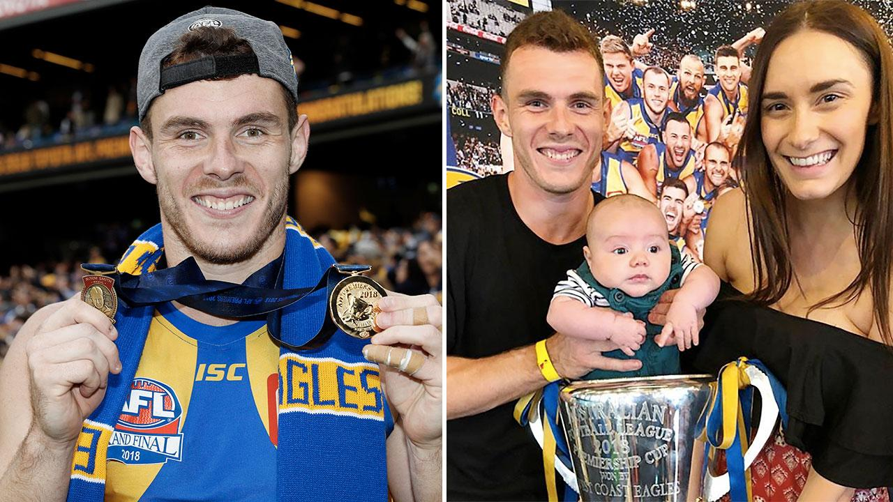 Luke Shuey almost changed newborn baby's name to Norm