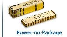 Vicor's Power-on-Package Enables Higher Performance for Artificial Intelligence Processors