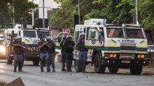 Police clash with students outside South Africa parliament
