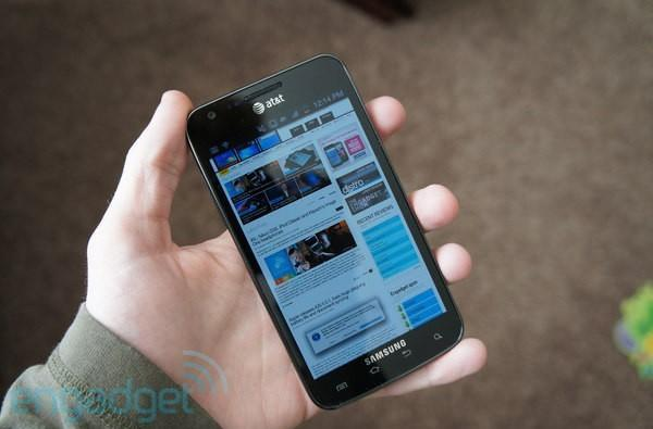 ICS upgrade leaks for AT&T's Samsung Galaxy S II Skyrocket